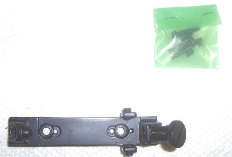 Russian Mosin Nagant 91/30 PU scope mount base, steel - Click Image to Close
