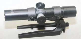 Russian Sniper Scope and Mount for SVT-40 Rifle