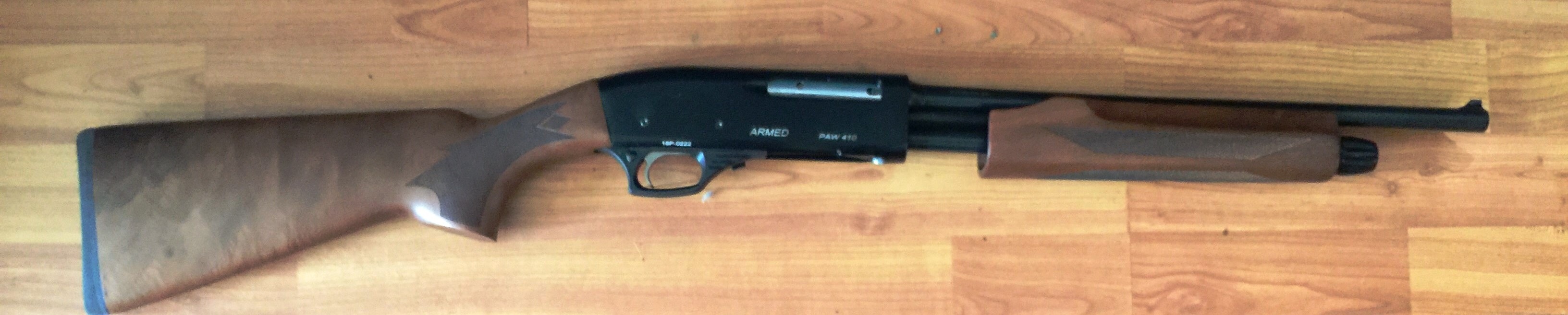 Gladiator Pump Action 410 GA 16 inch barrel Non restricted