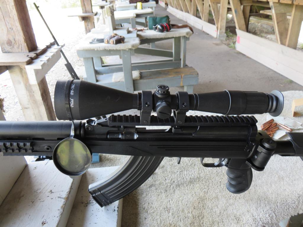 Rifle scope Pilad P8x56L