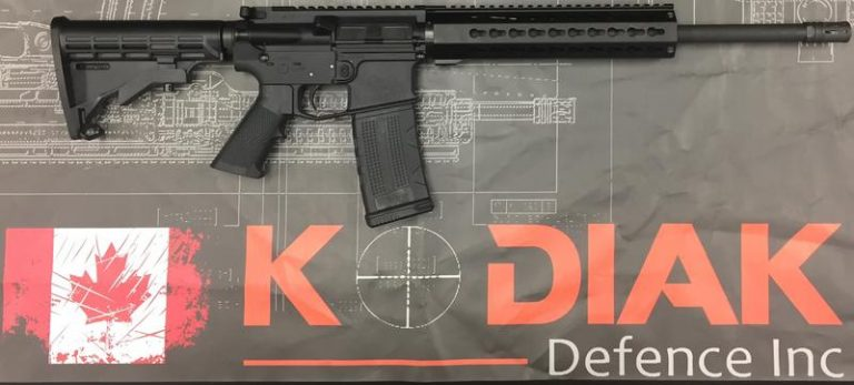 AR15 RIFLES Kodiak Defence Restricted