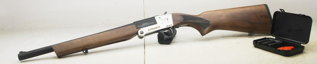 "Backpacker ARMED SASH ""SHORTY"",16"" BARREL 20 GA wood"
