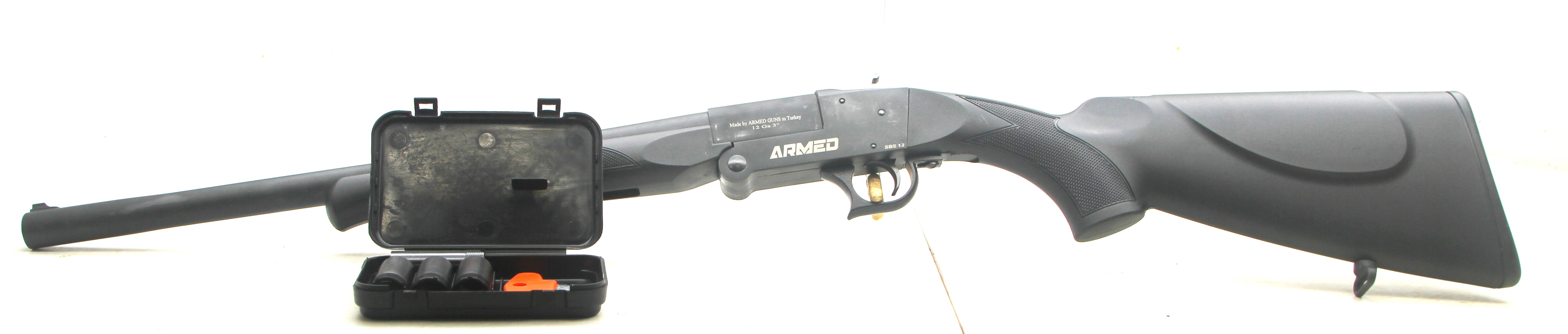 "Backpacker ARMED SASH ""SHORTY"", 19"" BARREL 12 GA"