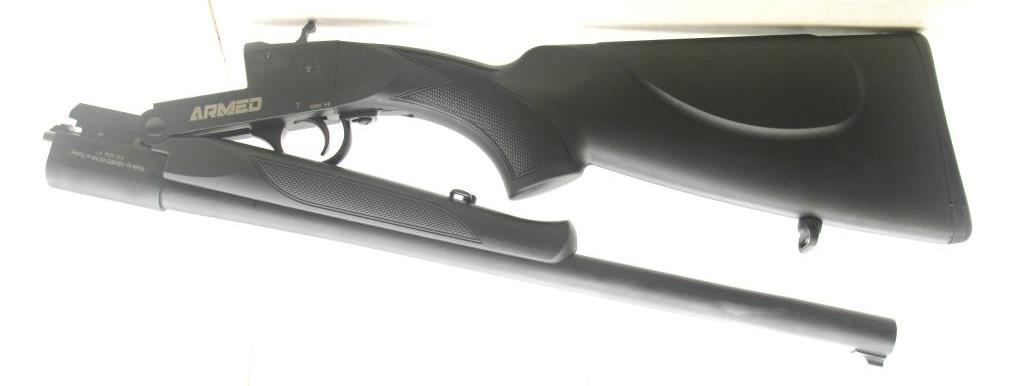"Backpacker ARMED SASH ""SHORTY"", 19"" BARREL 12 GA,Free Shipping!"