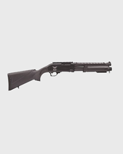 "Tactical G1 Pump Action, 12 GA,13 "" barrel w/ Heatshield & Rails"