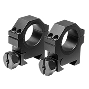 "30mm X 0.9""H HD Weaver Rings, 2pcs - Black"